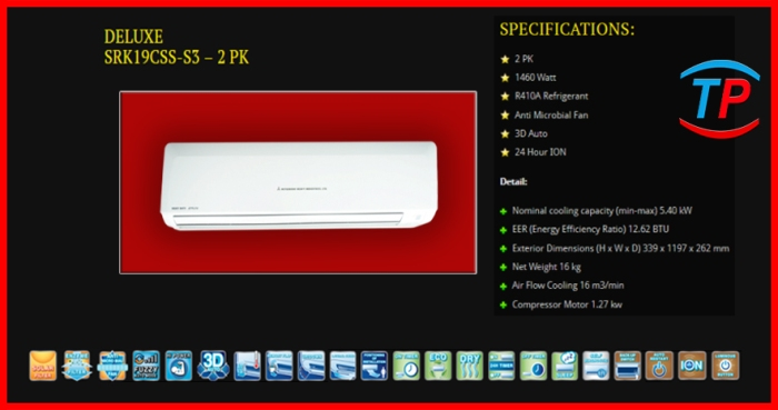 SRK219CSS 2 PK